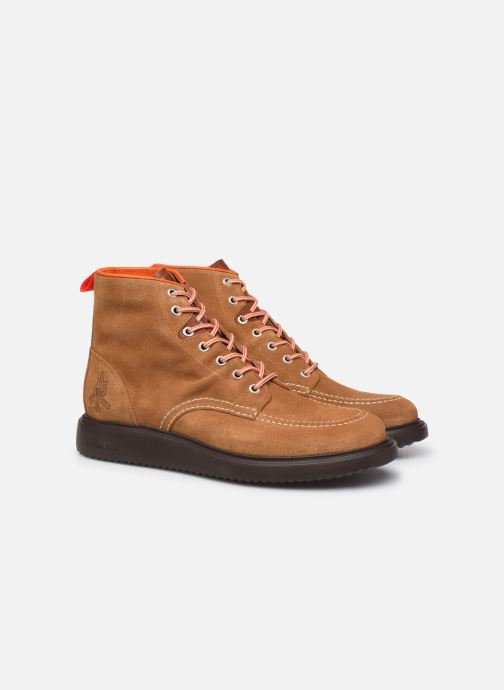 Bottines et boots PS Paul Smith Caplan Marron vue 3/4
