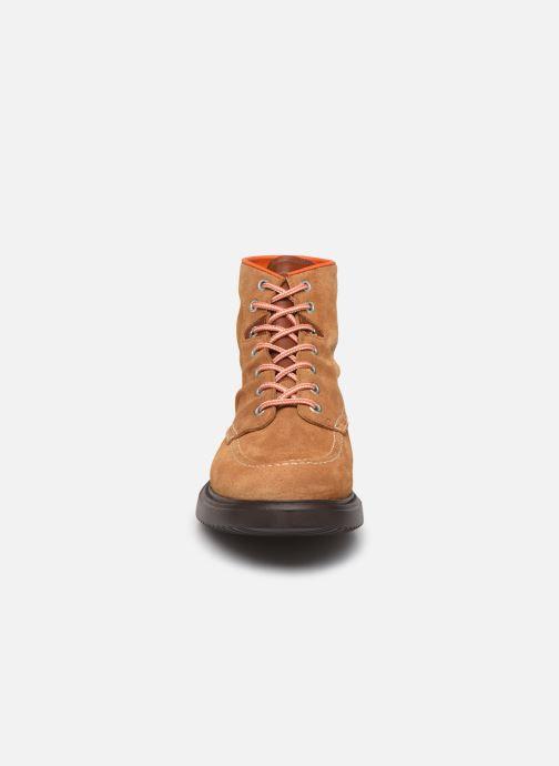 Bottines et boots PS Paul Smith Caplan Marron vue portées chaussures