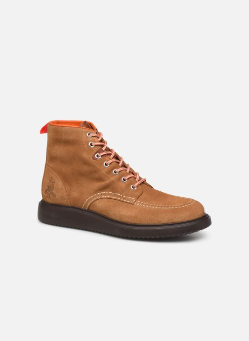 Bottines et boots PS Paul Smith Caplan Marron vue détail/paire