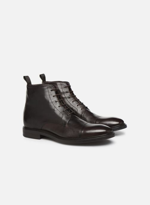 Bottines et boots PS Paul Smith Jarman Marron vue 3/4