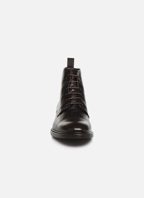 Bottines et boots PS Paul Smith Jarman Marron vue portées chaussures