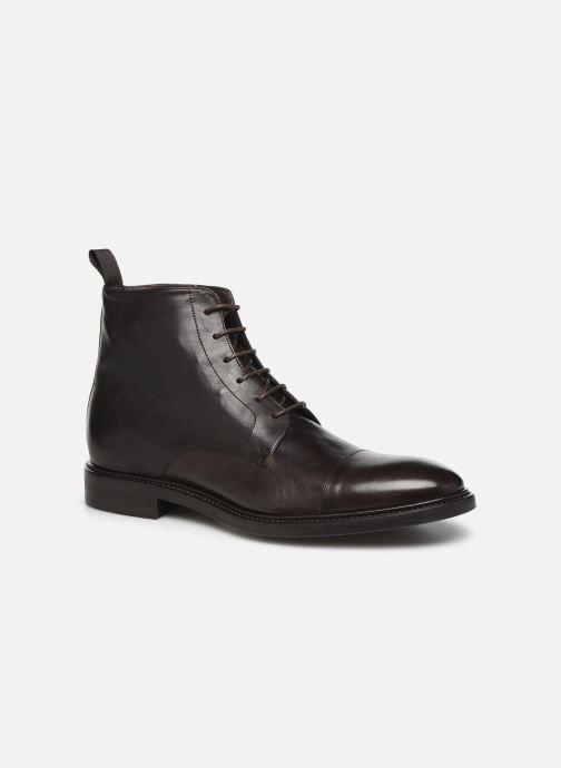 Boots en enkellaarsjes PS Paul Smith Jarman Bruin detail