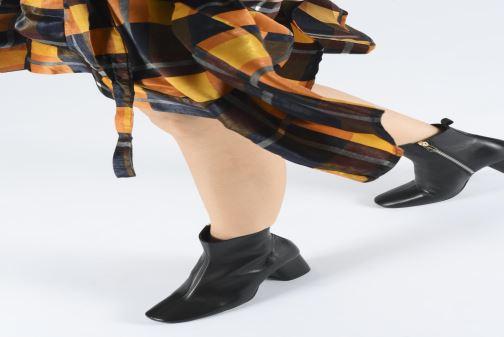 Bottines et boots PS Paul Smith Moss Noir vue bas / vue portée sac