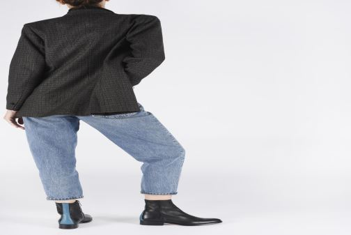 Stiefeletten & Boots PS Paul Smith Adalia schwarz ansicht von unten / tasche getragen