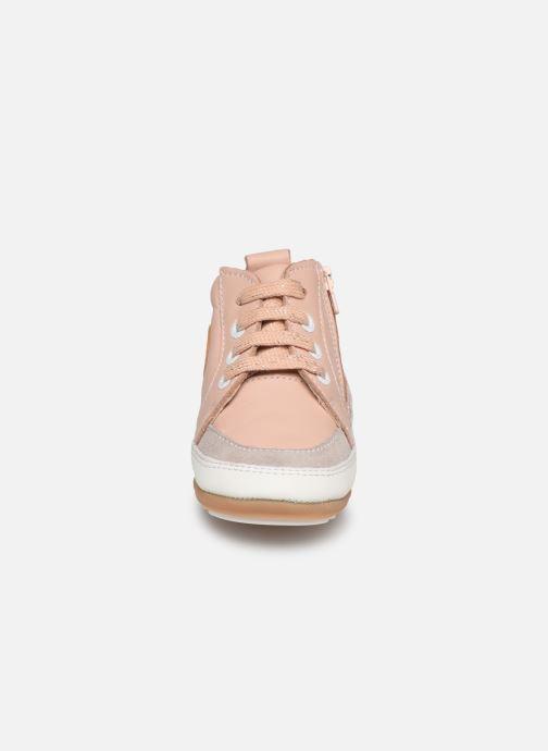 Baskets Robeez Migo Rose vue portées chaussures