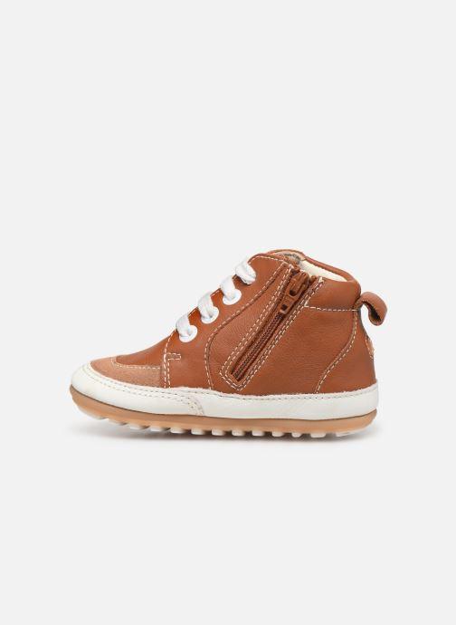 Sneakers Robeez Migo Bruin voorkant