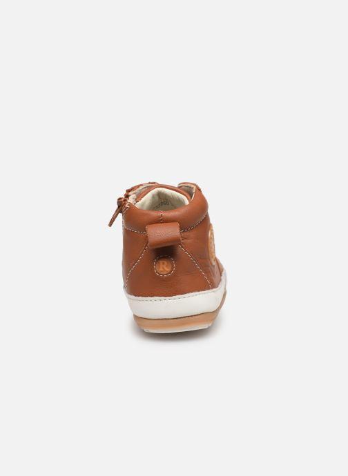 Sneakers Robeez Migo Bruin rechts