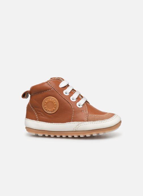 Sneakers Robeez Migo Bruin achterkant