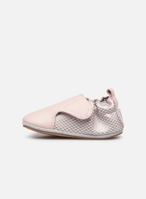 Chaussons Robeez Hector Rose vue face