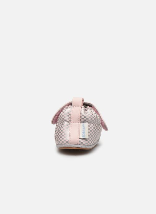 Chaussons Robeez Hector Rose vue droite