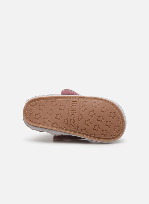 Chaussons Robeez Hector Rose vue haut
