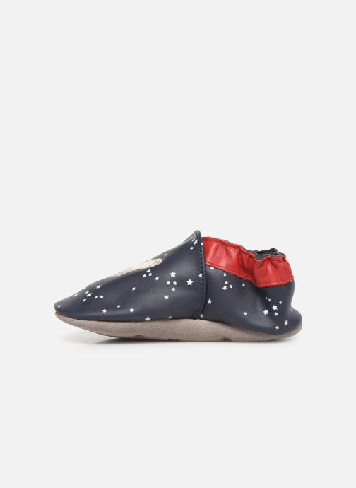 Chaussons Robeez Speed Spaceship Bleu vue face