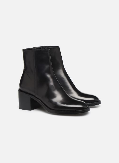 Bottines et boots Free Lance Chiara 6 Zip Boot Noir vue 3/4