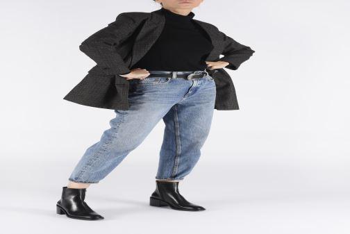 Stiefeletten & Boots Free Lance Chiara 6 Zip Boot schwarz ansicht von unten / tasche getragen