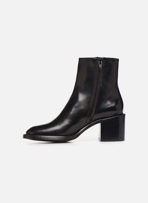 Bottines et boots Free Lance Chiara 6 Zip Boot Noir vue face