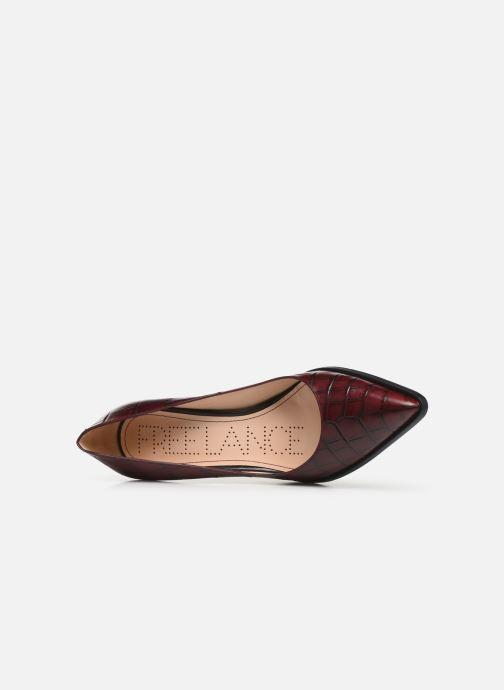 Zapatos de tacón Free Lance Jamie 7 Pump Vino vista lateral izquierda