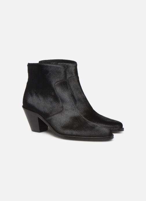 Bottines et boots Free Lance Jane 7 Zip Boot Noir vue 3/4