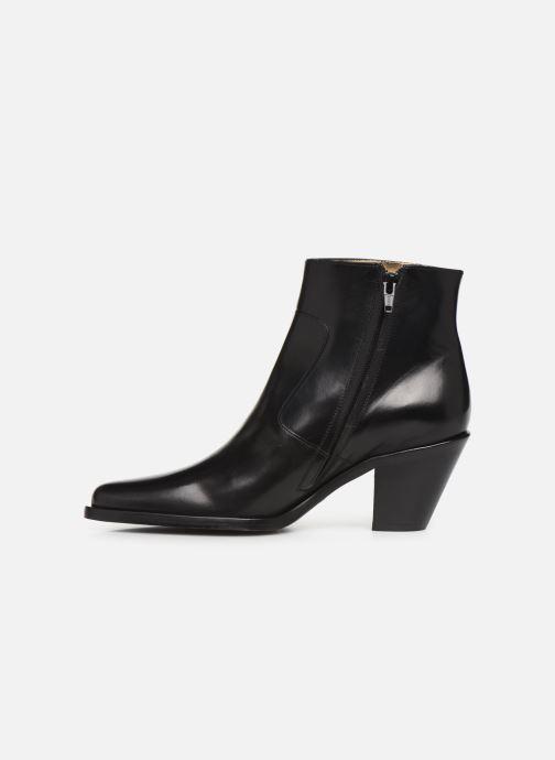Bottines et boots Free Lance Jane 7 Zip Boot Noir vue face