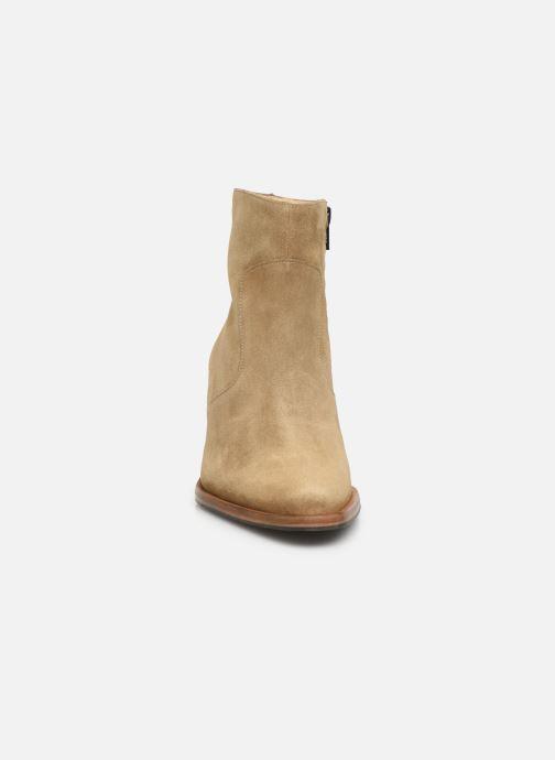 Bottines et boots Free Lance Jane 7 Zip Boot Beige vue portées chaussures