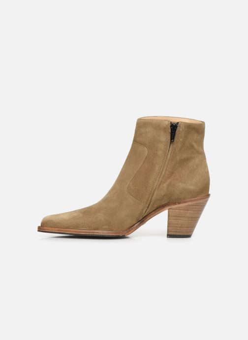 Bottines et boots Free Lance Jane 7 Zip Boot Beige vue face
