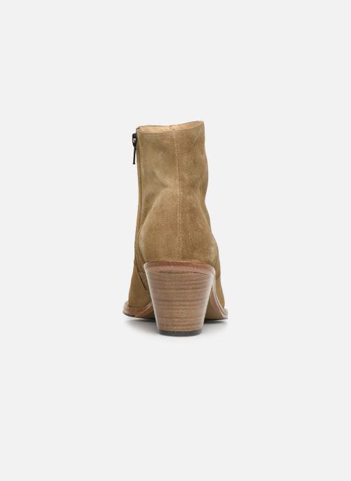 Bottines et boots Free Lance Jane 7 Zip Boot Beige vue droite