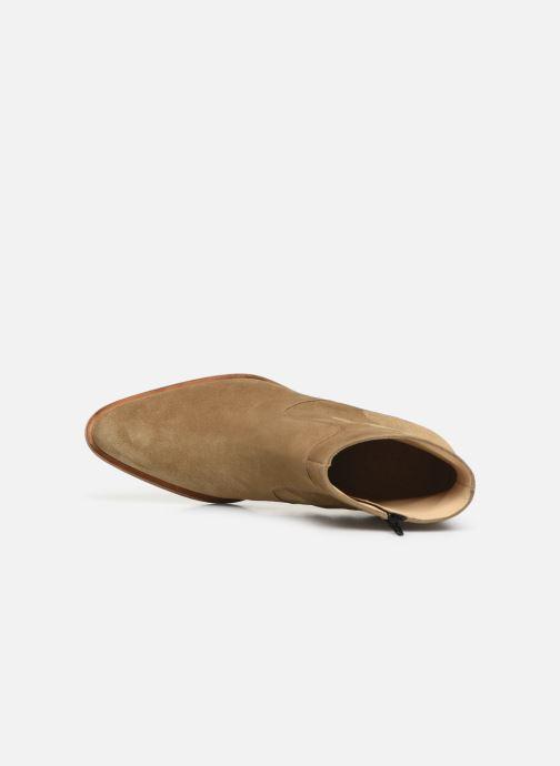 Bottines et boots Free Lance Jane 7 Zip Boot Beige vue gauche