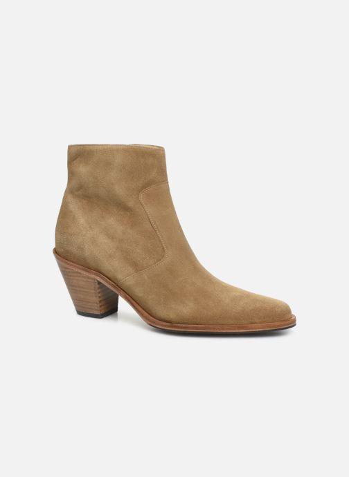 Bottines et boots Free Lance Jane 7 Zip Boot Beige vue détail/paire