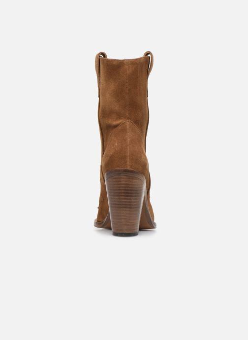Bottines et boots Free Lance Jane 9 West Mid Botte Beige vue droite