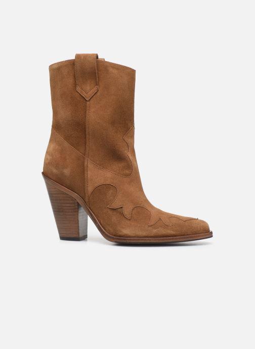 Bottines et boots Free Lance Jane 9 West Mid Botte Beige vue derrière