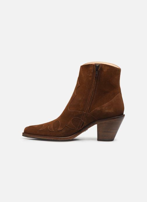 Bottines et boots Free Lance Jane 7 West Zip Boot Marron vue face
