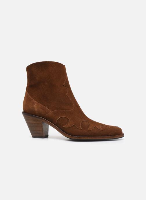 Bottines et boots Free Lance Jane 7 West Zip Boot Marron vue derrière