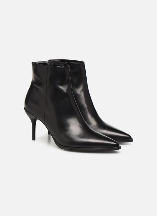Bottines et boots Free Lance Jamie 7 Zip Boot Noir vue 3/4