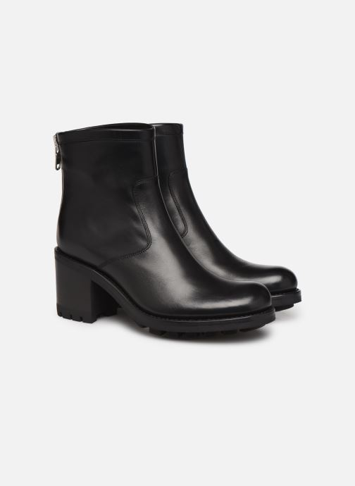 Bottines et boots Free Lance Justy 7 Bak Zip Boot Noir vue 3/4