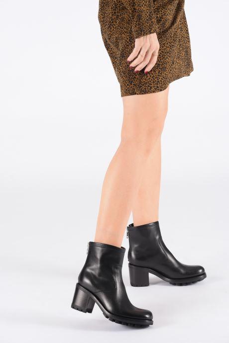 Bottines et boots Free Lance Justy 7 Bak Zip Boot Noir vue bas / vue portée sac