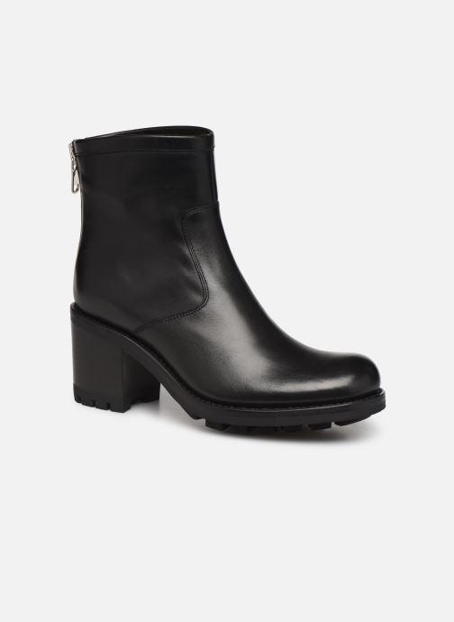 Bottines et boots Free Lance Justy 7 Bak Zip Boot Noir vue détail/paire