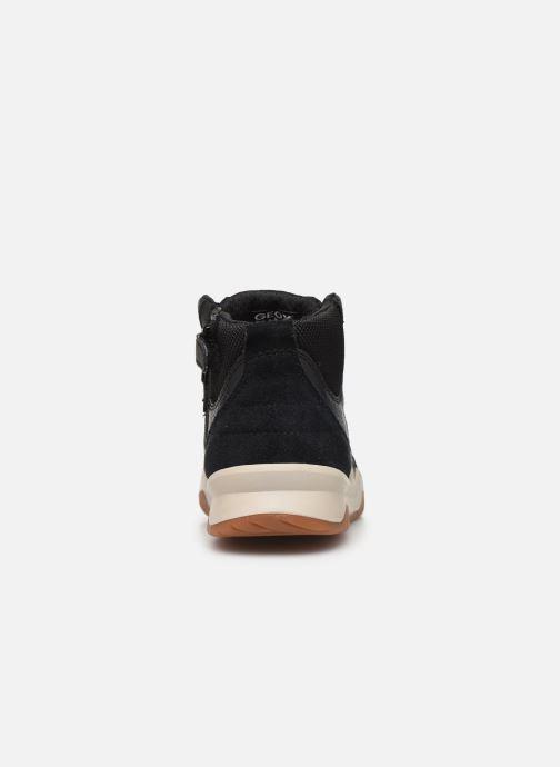 Sneakers Geox J Perth Boy J947RA Zwart rechts