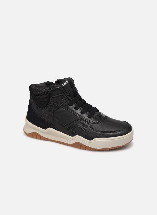 Sneakers Geox J Perth Boy J947RA Zwart detail