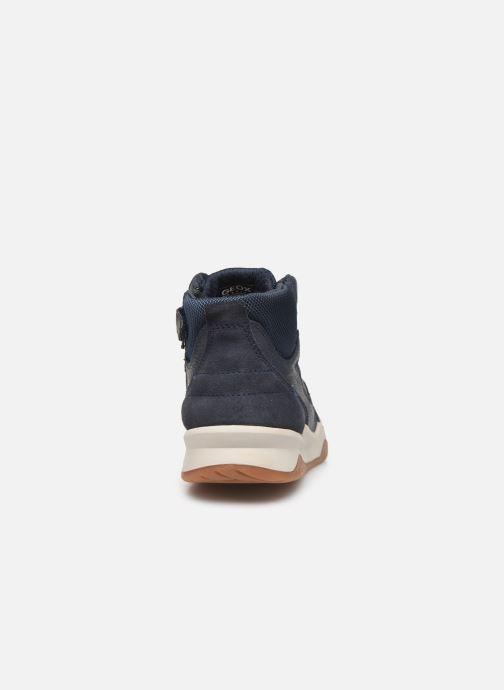 Sneakers Geox J Perth Boy J947RA Blauw rechts