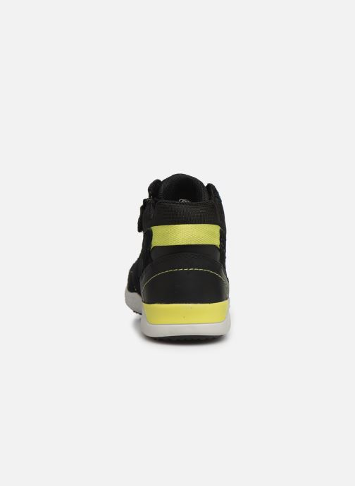 Sneakers Geox J Snake.2 Boy J94ABB Nero immagine destra