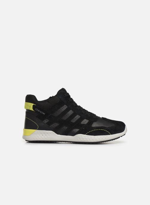 Sneakers Geox J Snake.2 Boy J94ABB Nero immagine posteriore
