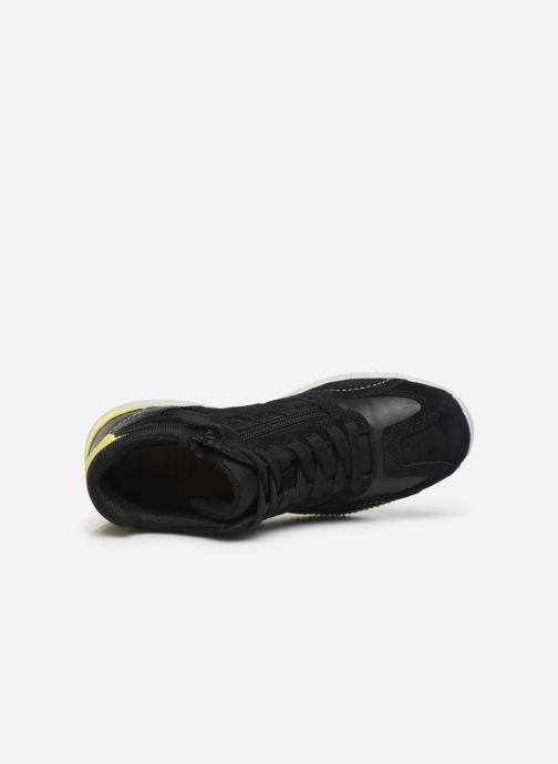 Sneakers Geox J Snake.2 Boy J94ABB Nero immagine sinistra