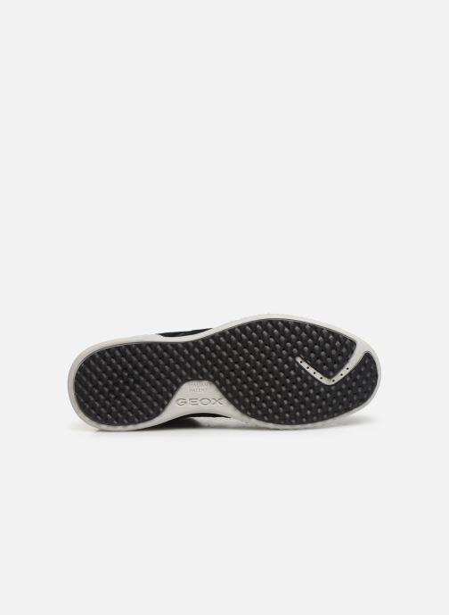 Sneakers Geox J Snake.2 Boy J94ABB Nero immagine dall'alto
