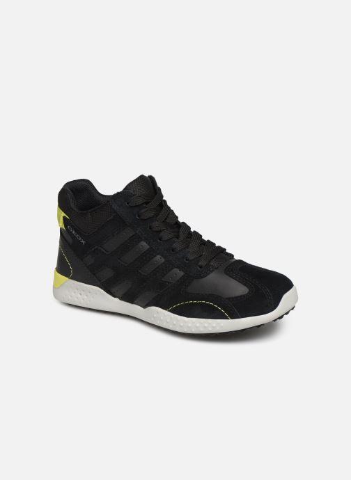Sneakers Geox J Snake.2 Boy J94ABB Zwart detail