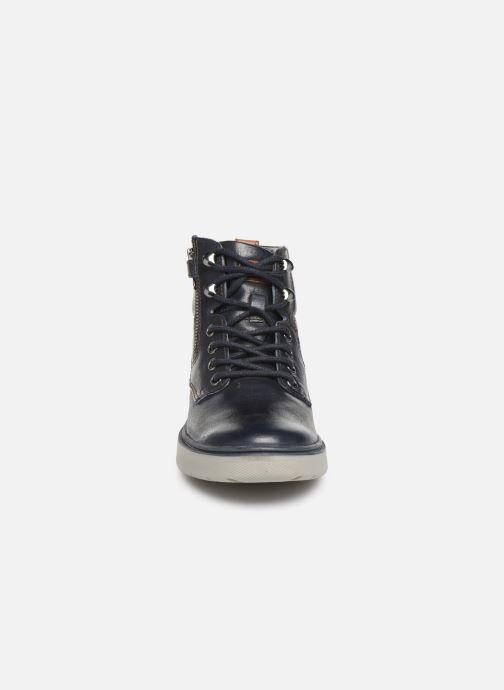 Baskets Geox J Riddock Boy J947SA Bleu vue portées chaussures