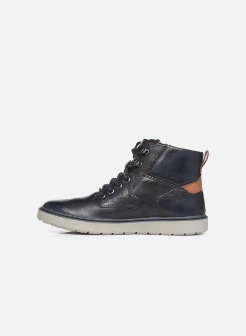 Sneaker Geox J Riddock Boy J947SA blau ansicht von vorne