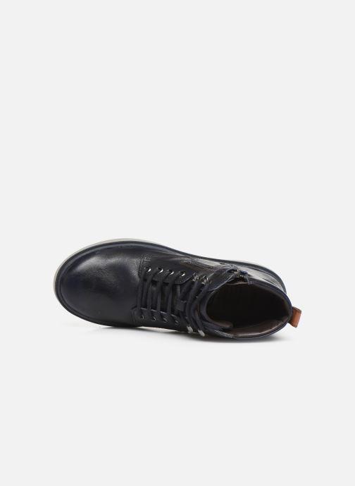 Sneakers Geox J Riddock Boy J947SA Blauw links