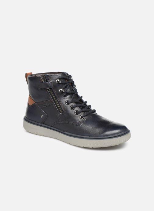 Sneakers Geox J Riddock Boy J947SA Blauw detail