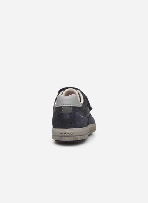 Sneakers Geox J Arzach Boy J944AD Blauw rechts