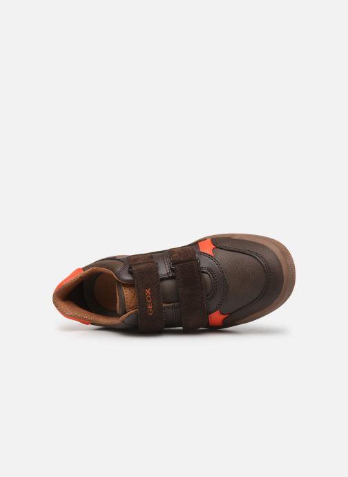 Sneakers Geox J Arzach Boy J944AD Bruin links