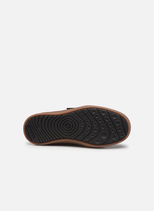 Sneakers Geox J Arzach Boy J944AD Bruin boven